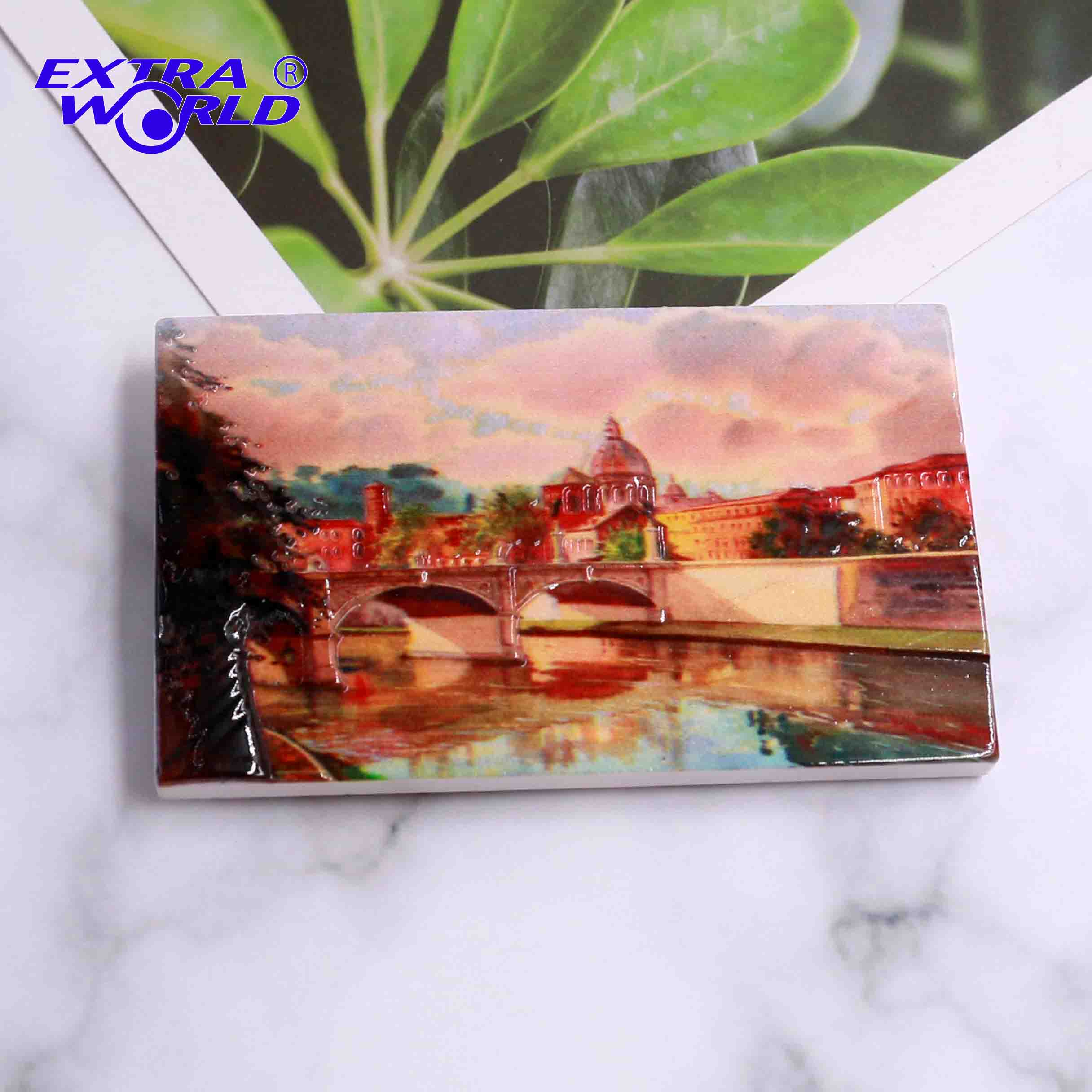 EW00094 Promotional Custom Souvenir Printing Resin 3D