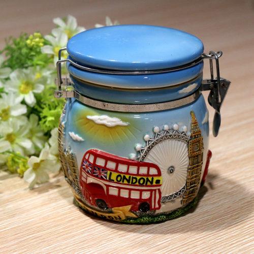 Ceramic_London Tourist_Seal_Jar_EW0004