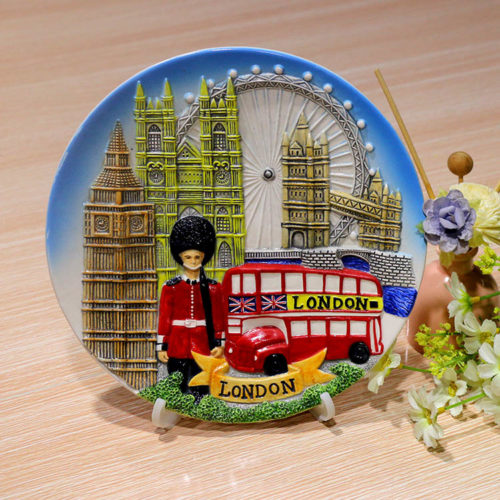 London_Ceramic_Handpainting_Plate_EW0001
